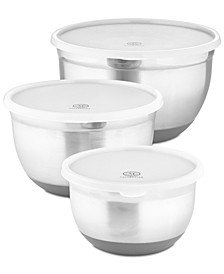6-Pc. Non-Skid Bowls & Lids Set, Created for Macy's