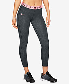 Under Armour Favorites French Terry Cropped Leggings