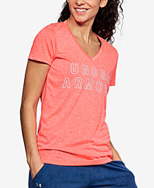 Under Armour UA Tech™ Twist Logo T-Shirt
