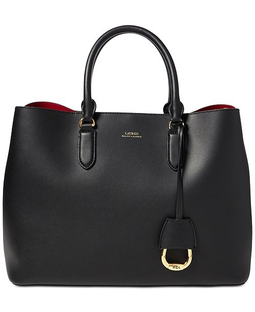 beae7791d0d Lauren Ralph Lauren Dryden Marcy Leather Tote - Handbags ...