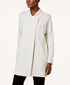 Eileen Fisher Tencel® Textured Kimono Jacket, Regular & Petite