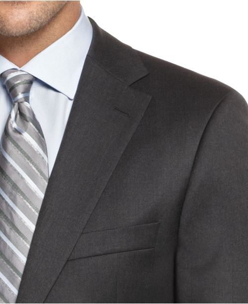 9b1189514 Hugo Boss BOSS Pasolini Grey Solid Suit & Reviews - Suits & Tuxedos ...