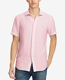 Polo Ralph Lauren Men's Classic Fit Linen Shirt