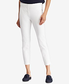 Lauren Ralph Lauren Petite Skinny Fit Crop Pants