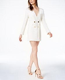 Rachel Zoe Betty Double-Breasted Suit Dress