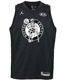 Nike Kyrie Irving Boston Celtics All Star Swingman Jersey, Big Boys (8-20)