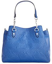I.N.C. Quiin Triple-Compartment Medium Satchel, Created for Macy's