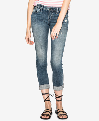 Silver Jeans Co. Sam Boyfriend Stretch Jeans