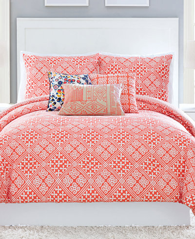 Vera Bradley Cuban Tiles 3-Pc. King Comforter Set