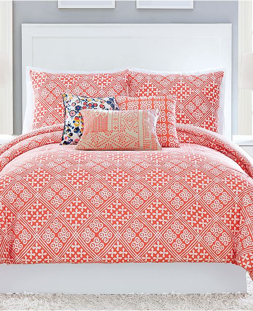 Vera Bradley Cuban Tiles 2 Pc Twin Xl Comforter Set