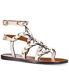 COACH Gladiator Flat Sandals