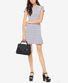 MICHAEL Michael Kors Printed Flounce Dress
