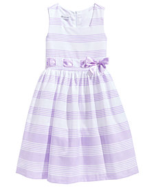 Bonnie Jean Striped Dress, Big Girls