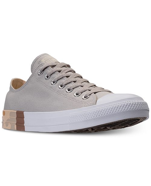 0a130e3093e3 ... Converse Men s Chuck Taylor All Star Ox Camo Casual Sneakers from Finish  Line ...
