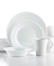Shimmering White Round 16-Pc. Set, Service for 4