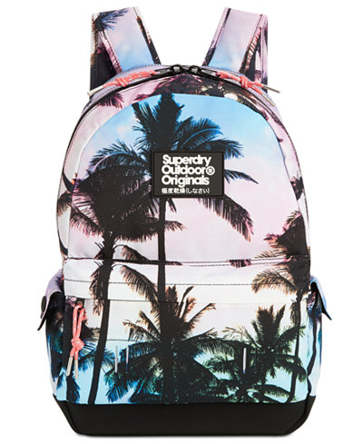 Superdry Men's Montana Photo-Print Backpack