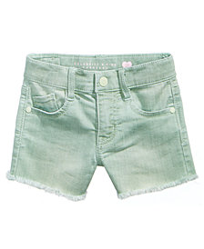 Celebrity Pink Super Soft Color Denim Shorts, Toddler Girls