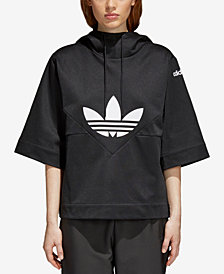 adidas Originals CLRDO Trefoil Cotton Short-Sleeve Hoodie