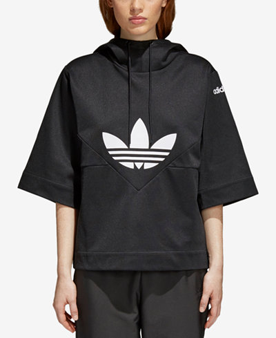 adidas Originals CLRDO Cotton Short-Sleeve Hoodie