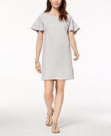Style & Co Ruffle-Sleeve A-Line Dress, Created for Macy's