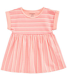 First Impressions Striped Cotton Tunic, Baby Girls, Created for Macy's