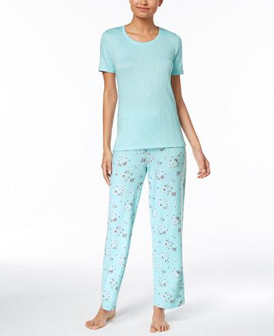 Charter Club Cotton Pajama Top & Pants Sleep Separates, Created for Macy's