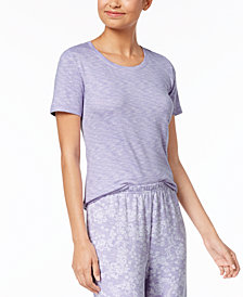 Charter Club Soft Knit Pajama Top, Created for Macy's