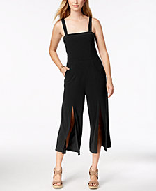 Love Scarlett Petite Split-Hem Cropped Jumpsuit, Created for Macy's