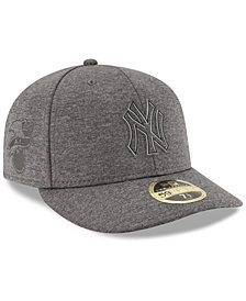 New Era New York Yankees Clubhouse Grey Low Profile 59FIFTY Fitted Cap