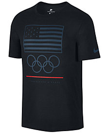Nike Men's Olympic Flag Rings T-Shirt