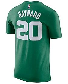 Men's Gordon Hayward Boston Celtics Icon Player T-Shirt