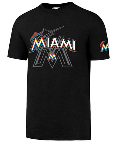 '47 Brand Men's Miami Marlins On-Deck Rival T-Shirt