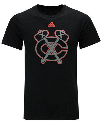 adidas Men's Chicago Blackhawks Ice Out Logo T-Shirt