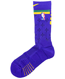 Nike Men's New Orleans Pelicans Elite Quick Crew Socks