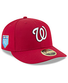New Era Washington Nationals Spring Training Pro Light Low Profile 59Fifty Fitted Cap