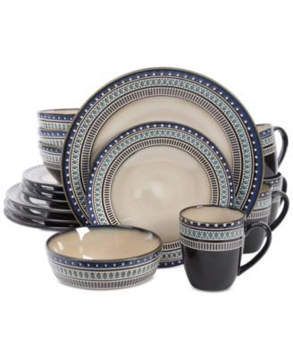 main image  sc 1 st  Macyu0027s & Gibson Magello 16-Pc. Dinnerware Set - Dinnerware - Dining ...