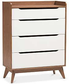 Brighton 4-Drawer Chest, Quick Ship