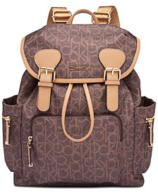 Signature  Double Buckle Backpack
