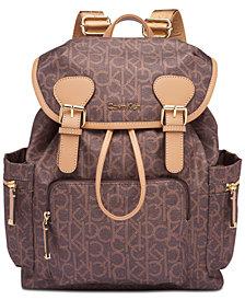 Calvin Klein Double Buckle Backpack