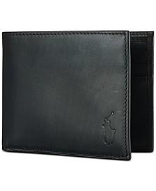 Polo Ralph Lauren Men's Wallet, Burnished Passcase
