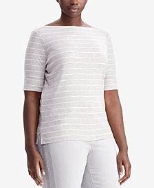 Lauren Ralph Lauren Plus Size Striped Top