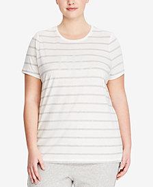 Lauren Ralph Lauren Plus Size Logo T-Shirt