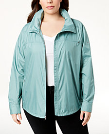 Columbia Plus Size Sustina Springs Windbreaker
