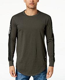 G-Star Men's Swando Stripe Logo Long Sleeve T-Shirt, Created for Macy's