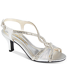 Caparros Lilly Embellished Evening Sandals