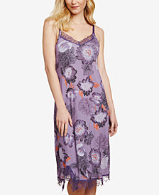 Jessica Simpson Nursing Lace-Trim Nightgown