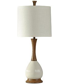 Stylecraft White Ceramic Table Lamp