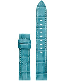 Michael Kors Access Women's Sofie Blue Leather Smart Watch Strap