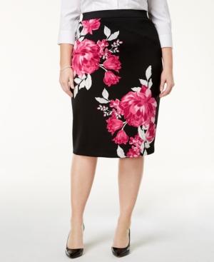 Alfani Plus Size Floral-Print...