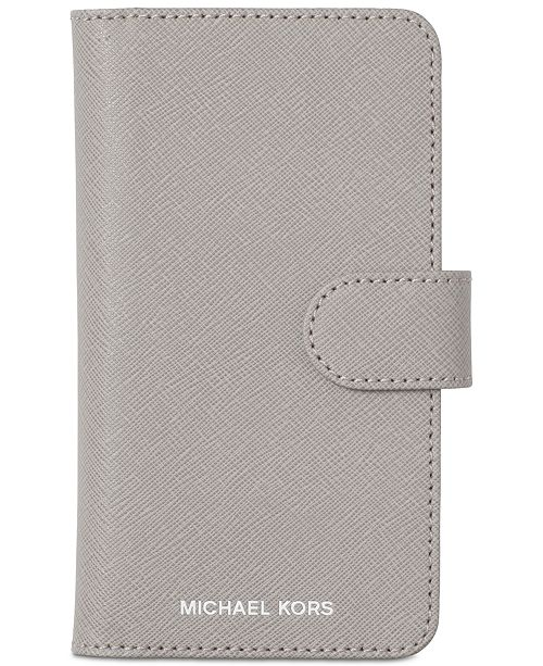 d2456f1244490a Michael Kors Folio iPhone X Case & Reviews - Handbags & Accessories ...